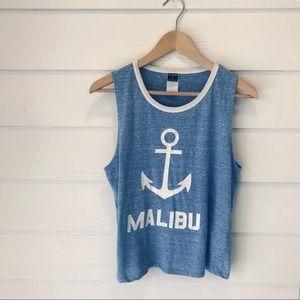 Tops - Malibu Muscle Tank ⚓️
